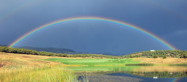 Heber Valley Rainbow Royalty Free Stock Images