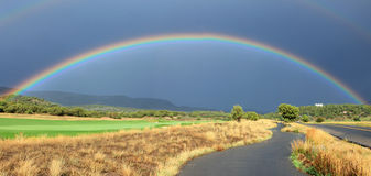 Heber Valley Rainbow Stock Photos