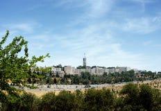 Hebrajski uniwersytet na górze Scopus Fotografia Royalty Free