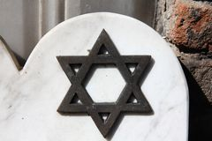Hebrew star symbol Royalty Free Stock Image