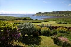 Hebridean port av Uig, Skye Royaltyfri Foto