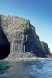 Hebrides Scozia della gente dell'isola di Staffa Fotografia Stock