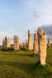 Hebrides stone circle Stock Images