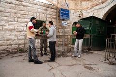 Hebron checkpoint Royalty Free Stock Photos