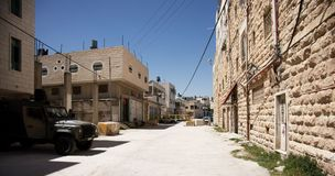 Hebron city Royalty Free Stock Image