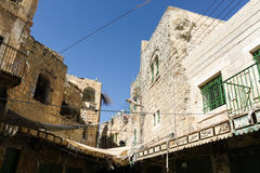 Hebron market, the Palestinian territories Royalty Free Stock Images