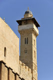 Hebron minaret. Royalty Free Stock Images