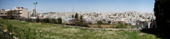 Hebron panorama Stock Images