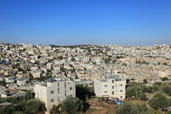 Hebron Panorama from Tel Rumeida Royalty Free Stock Images