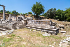 Hecate Temple in Lagina Stock Photo