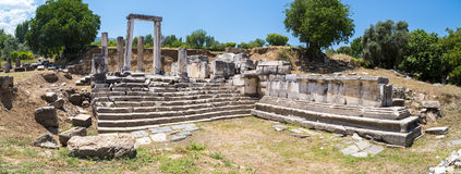 Hecate Temple in Lagina Stock Photos