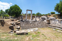 Hecate Temple in Lagina Stock Photography