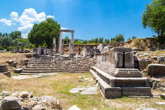 Hecate Temple in Lagina Royalty Free Stock Photos