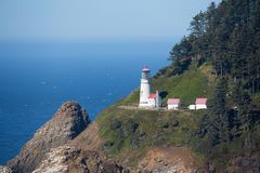 Heceda Head Light House stock images