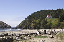 Heceta Beach Oregon Royalty Free Stock Photo