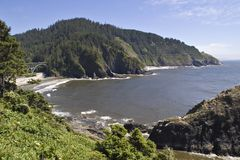 Heceta Beach Oregon Royalty Free Stock Image
