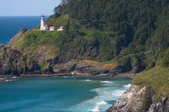 Heceta Head Cove Stock Images
