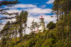 Heceta Head Light Stock Photography