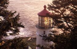 Heceta Head Lighthouse Royalty Free Stock Photography