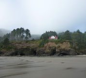 Heceta Head Lighthouse Keepers House.jpg Royalty Free Stock Images