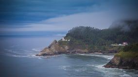 Heceta Head Lighthouse. On the Oregon Coast Royalty Free Stock Photos