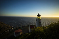 Heceta Head Lighthouse, Oregon Stock Photo