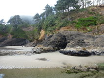 Heceta Head Lighthouse State Scenic Viewpoint.jpg Stock Photo