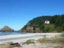 Heceta Head Lighthouse State Scenic Viewpoint.jpg Stock Photography