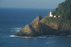 Heceta Lighthouse in Oregon Stock Image