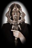 Hechicero de Víspera de Todos los Santos Imagen de archivo libre de regalías