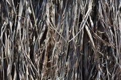 Hecho de hierba seca fotos de archivo