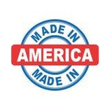 Hecho en América Imágenes de archivo libres de regalías