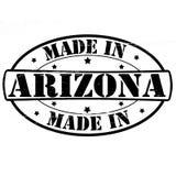 Hecho en Arizona ilustración del vector