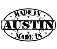 Hecho en Austin libre illustration