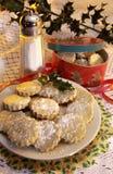 Hecho en casa pique las empanadas Foto de archivo libre de regalías