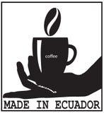 Hecho en Ecuador ilustración del vector