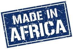 Hecho en el sello de África Foto de archivo libre de regalías