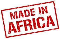 Hecho en el sello de África Fotografía de archivo