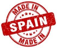 Hecho en el sello de España stock de ilustración
