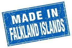 hecho en el sello de Falkland Islands stock de ilustración