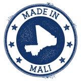 hecho en el sello de Malí libre illustration