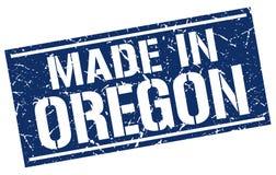Hecho en el sello de Oregon stock de ilustración