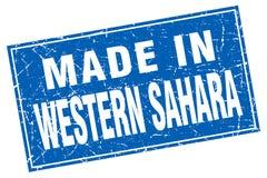 hecho en el sello de Western Sahara libre illustration