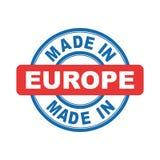 Hecho en Europa Fotos de archivo