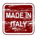 hecho en Italia Foto de archivo libre de regalías