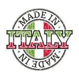 Hecho en Italia Stock de ilustración