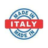Hecho en Italia Imagen de archivo libre de regalías