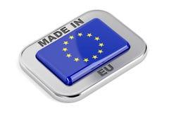 Hecho en la unión europea libre illustration
