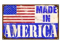 Hecho en muestra del esmalte de América