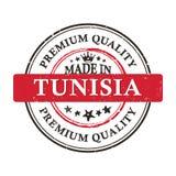 Hecho en Túnez Calidad superior - sello imprimible del grunge Imagen de archivo libre de regalías